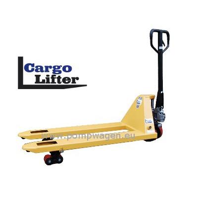 Cargolifter pompwagens voor euro en blokpallets
